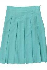 plisowana sp�dniczka Bialcon w kolorze turkusowym - moda damska 2013