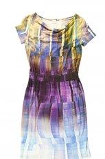 kolorowa kr�tka sukienka Bialcon - wiosna 2013