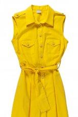 rozpinana sukienka Bialcon w kolorze z�otym - lato 2013