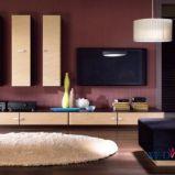Stylowe meble do salonu w stylu minimalistycznym od Black Red White -inspiracje 2013