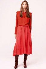 zwiewna sp�dniczka Chloe w kolorze czerwonym - moda na jesie� 2013