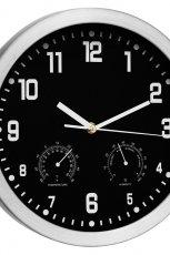 Nowoczesny zegar w stylu minimalistycznym do salonu lub gabinetu od Black Red White