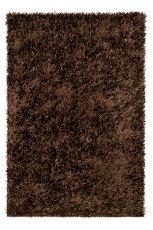 Mi�kki dywan w kolorze br�zowym puchaty do salonu od Black Red White  -nowo�ci 2013