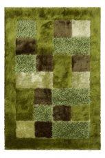 Pi�kny dywan w kolorze zieleni we wzory od Black Red White  -nowo�ci 2013