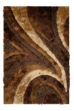 Pi�kny dywan w kolorze czekoladowym wzorzysty od Black Red White  -nowo�ci 2013
