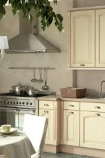Urokliwe meble do kuchni kremowe klasyczne od Black Red White -inspiracje 2013