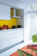 Pi�kne meble do kuchni w kolorze bieli od Black Red White  -trendy 2013