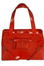 lakierowany kuferek Ochnik w kolorze czerwonym - wiosna 2013