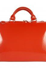 elegancki kuferek Ochnik w kolorze czerwonym - torebki na wiosn� i lato 2013