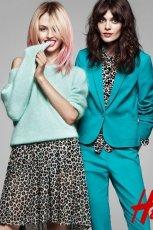 uroczy sweterek H&M w kolorze b��kitnym - wiosna 2013