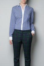 elegancka koszula ZARA - kolekcja na wiosn� 2013