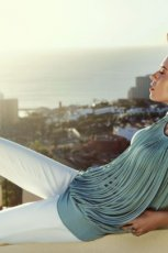 modne rurki Caterina w kolorze bia�ym