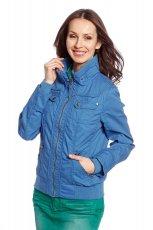 niebieska kurtka C&A - wiosenne kurtki