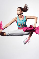 sportowa bluza Nike w kolorze r�owym - wiosna 2013