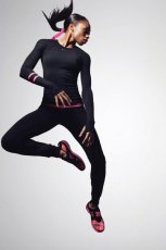 wygodne legginsy Nike w kolorze czarnym - lato 2013