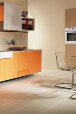 Modna kuchnia w kolorze o�ywczej pomara�czy od marki Parady�  trendy 2013
