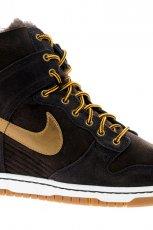 czarne sneakersy Nike na koturnie - wiosna 2013