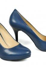 niebieskie szpilki Badura - moda na wiosn�