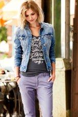 jeansowa katana H&M - wiosna i lato 2013