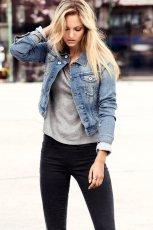 jeansowa kurtka H&M - moda na lato 2013