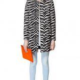 p�aszczyk ZARA w wyrazisty wz�r - moda na wiosn� 2013