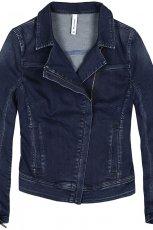 jeansowa katana Reserved w kolorze granatowym - moda na wiosn� i lato 2013
