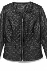 pikowana kurtka Mohito w kolorze czarnym - wiosna i lato 2013
