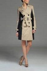 be�owo-czarny p�aszcz Top Secret - moda na wiosn� 2013