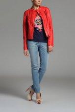 modna kurteczka Top Secret w kolorze koralowym - moda na wiosn� 2013