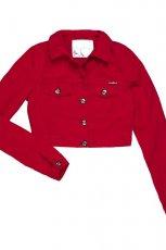 modna kurteczka Cropp w kolorze czerwonym - moda na wiosn� 2013