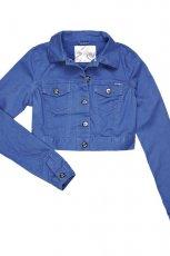 urocza kurteczka Cropp w kolorze niebieskim - moda na lato 2013