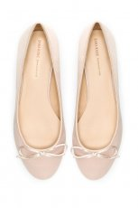 eleganckie baleriny ZARA w kolorze cielistym - moda 2013