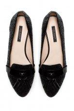 czarne mokasyny ZARA - moda na wiosn� 2013