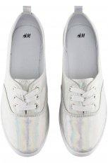 cieniowane trampki H&M - lato 2013