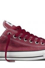 trampki Converse w kolorze bordowym - kolekcja na lato 2013