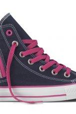 czarno-fioletowe trampki Converse - wiosna 2013