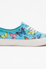 trampki Vans w motyle w kolorze niebieskim - wiosna i lato 2013
