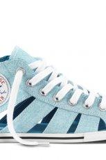 sanda�ki - trampki Converse w kolorze b��kitnym - obuwie na wiosn� 2013