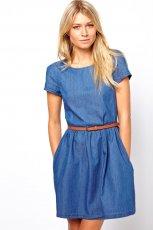 sukienka Asos d�insowa - wiosna/lato 2013