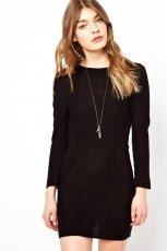 czarna sukienka Asos - wiosna/lato 2013