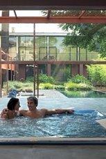 Wyj�tkowy basen ogrodowy w drewnie pod�wietlany MAX-FLIZ 2013