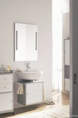 Luksusowe meble �azienkowe w kolorze ecru i srebra inspiracje od MAX-FLIZ