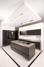 Pi�kne meble kuchenne w kolorze ciemnej czekolady  MAX-FLIZ
