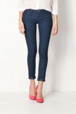 rurki Bershka jeansowe  - kolekcja wiosenna