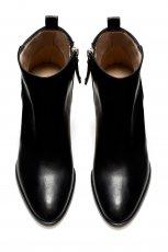 eleganckie botki ZARA w kolorze czarnym - obuwie na wiosn� 2013