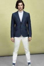 spodnie H&M w kolorze bia�ym - kolekcja wiosenno/letnia 2013