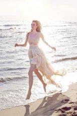suknia �lubna Leila Hafzi asymetryczna