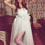 suknia �lubna Dagnez asymetryczna
