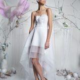 suknia �lubna artMadam asymetryczna