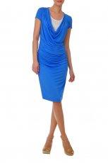 niebieska sukienka Tatuum